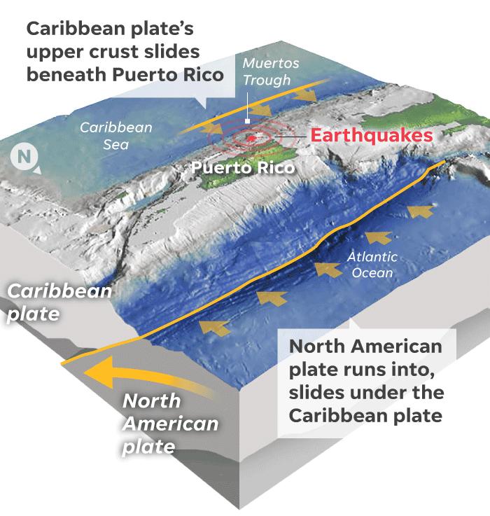 Puerto Rico experiences new earthquake