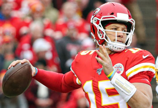 Patrick Mahomes takes aim at delivering the Chiefs to their first Super Bowl appearance in 50 years.