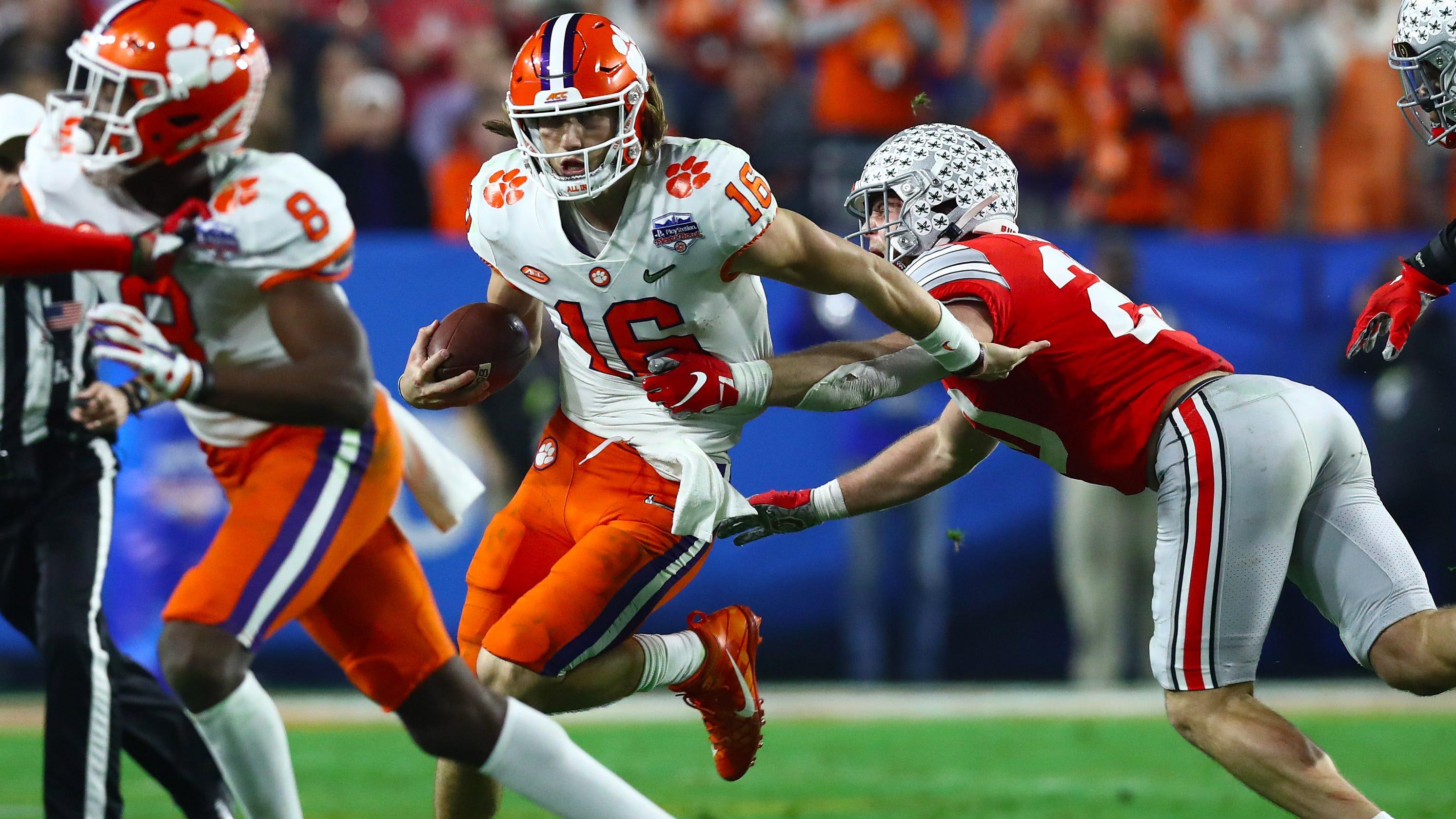 LSU-Clemson: Trevor Lawrence had greatest game against ...