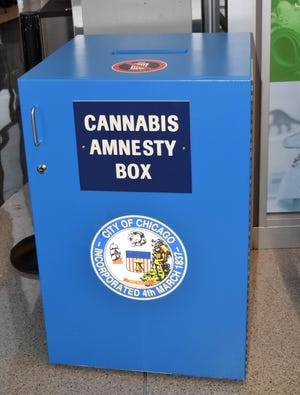 Cannabis Amnesty Box in Chicago