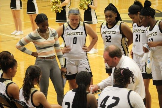 The T.L. Hanna girls basketball team is currently ranked No. 2 in the state in Class AAAAA.