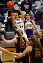 North Kitsap's Noey Barreith and the Vikings have won five of their past six games heading into Friday's regional playoff contest against Black Hills.