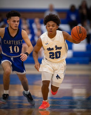 Carteret at Middlesex basketball