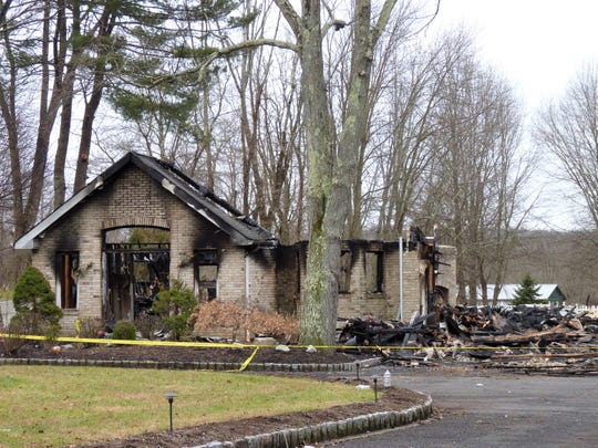 A house fire at a home on Washington Valley Road in Warren resulted in a total loss.