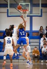 Carteret at Middlesex basketball