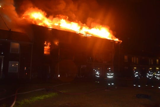 IFD responded to a fire at Pangea Prairie Apartments on January 11, 2020.