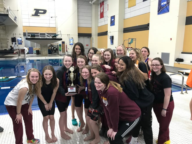 McCutcheon won its third North Central Conference girls swimming title in six years.