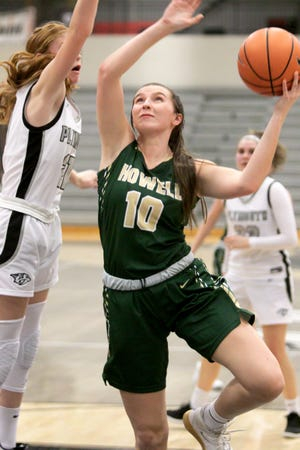 Kaylee Wendel, a four-year starter for Howell, will play basketball at Albion College.