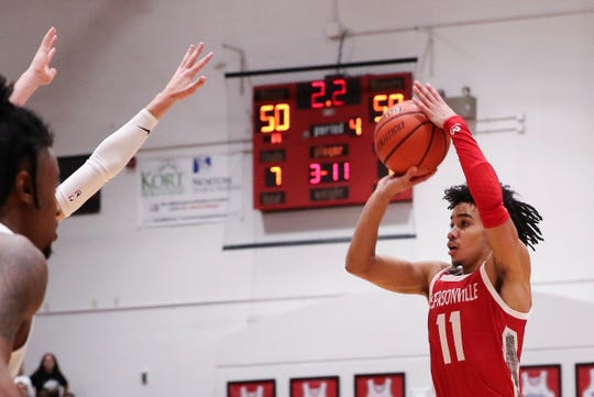 Jeffersonville point guard Jacob Jones is averaging 13.1 points, 5.2 assists and two steals per game this season.