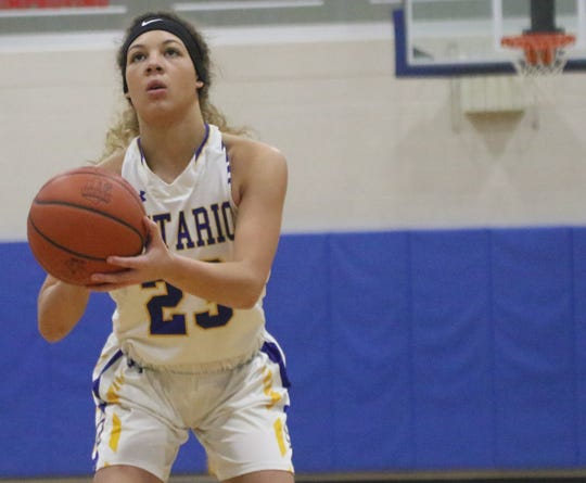 Ontario's Carleigh Pearson has the Lady Warriors looking to rebound from a 2-game losing streak last week.