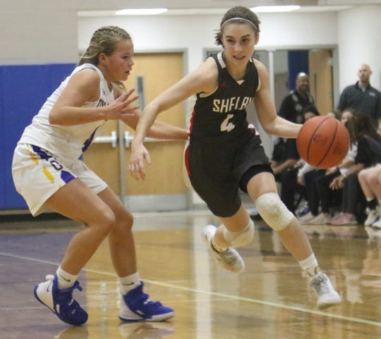 Shelby's Sophie Niese helped the Lady Whippets earn the No. 2 overall seed in the Ashland District.