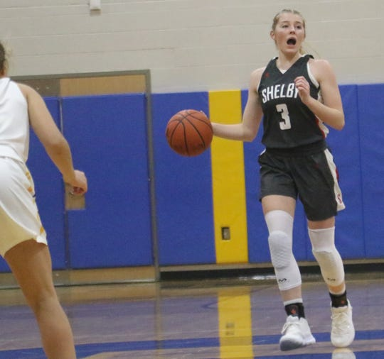 Shelby's Haylee Baker has the Lady Whippets at No. 1 in the Richland County Girls Basketball Power Poll.