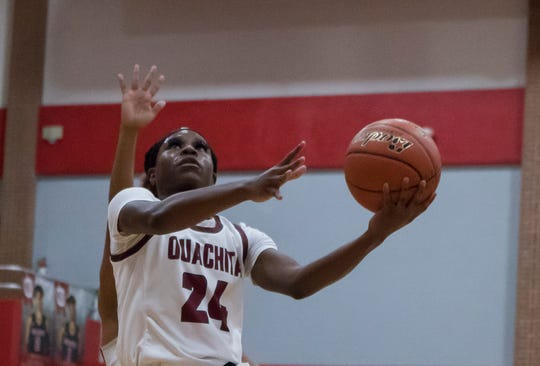 Rebounding and turnovers helped Ouachita defeat Terrebonne 56-49 and make the Class 5A quarterfinals for the fourth consecutive year.
