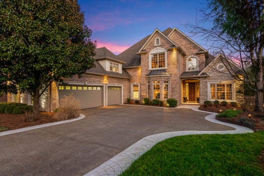 Wanda and Ed Sloan's house was built for the 2001 Parade of Homes and has features that are in demand today, such as the three-car side-loading garage.