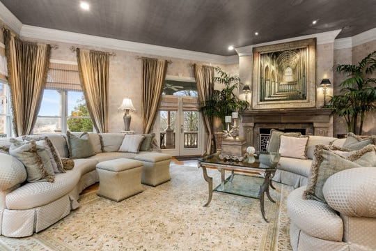 The home is being offered with all of the furnishings from the Parade of Homes.