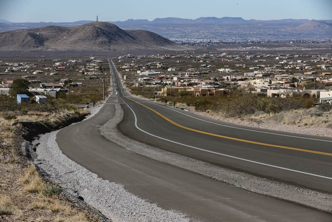 The Soledad Canyon multi-use path is pictured in Las Cruces on Saturday, Jan. 11, 2020.