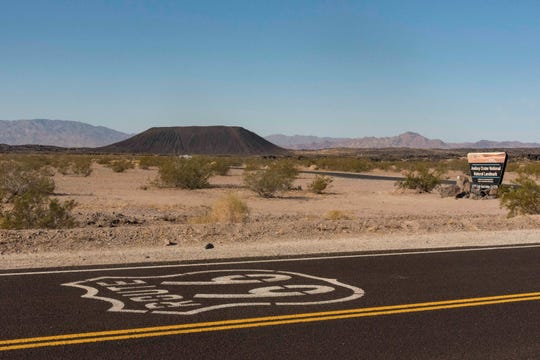 Amboy Crater can easily be accessed from Barstow or the high desert communities of Joshua Tree and Twentynine Palms.