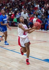 Tahnyjia Purifoy (10) and the Pine Forest Eagles currently rank third in Class 5A according to MaxPreps and are the highest-ranked team in the Pensacola area.