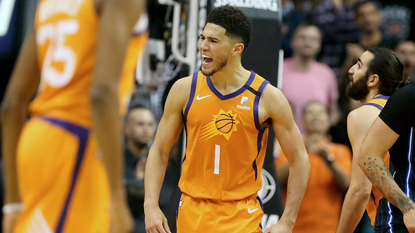 Devin Booker much more popular among NBA players than fans in voting for NBA All-Star Game