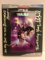 "Hamill sent Bookmans an autographed ""Star Wars"" DVD after store staff returned a record autographed by John Williams that Hamill hadn't seen since the '90s."