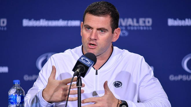 Former Penn State coach Gerad Parker was hired at West Virginia University, Friday, Jan. 11.