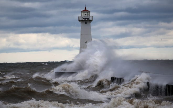 A high wind warning is in effect for much of western New York on Sunday morning.