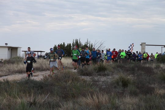 The race starts in the 2018 Shannon Trail Series hosted by the San Angelo Road Lizards.