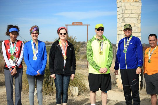 Winners from the 2018 Shannon Trail Series hosted by the San Angelo Road Lizards.