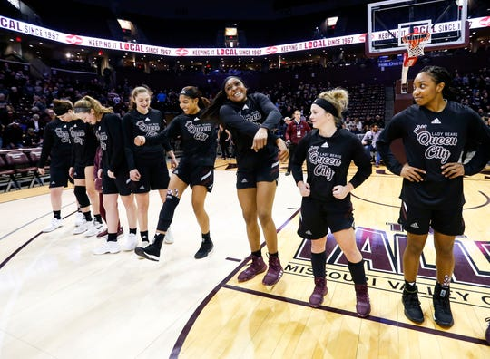 The Missouri State Lady Bears took on Northern Iowa on Sunday at JQH Arena, winning 80-66.