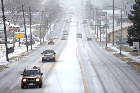 The National Weather Service says snow could be coming to Springfield just in time for morning rush hour Wednesday, as shown in this photo taken Saturday, Jan. 11, 2020.