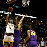 The Missouri State Bears took on the University of Northern Iowa Panthers at JQH Arena on Saturday.