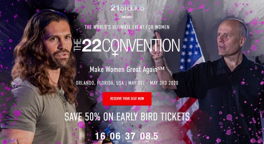 """The 22 Convention promises to """"Make Women Great Again."""""""