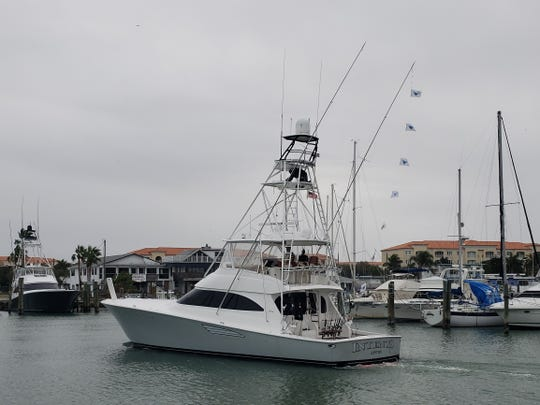 InTents, captained by Rhett Bailey of Jensen Beach, was Friday's daily award winner with seven sailfish releases at the Pelican Yacht Club Billfish Invitational.