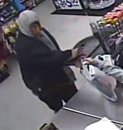 Police are looking for a gunman who robbed two businesses in El Paso's Mission Valley on Jan. 1-2, 2020.