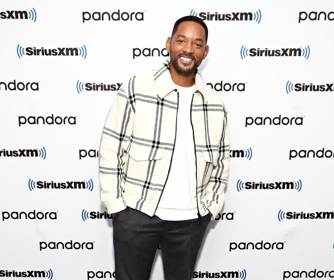 Will Smith  visits the SiriusXM Studio on January 9, 2020 in New York City.