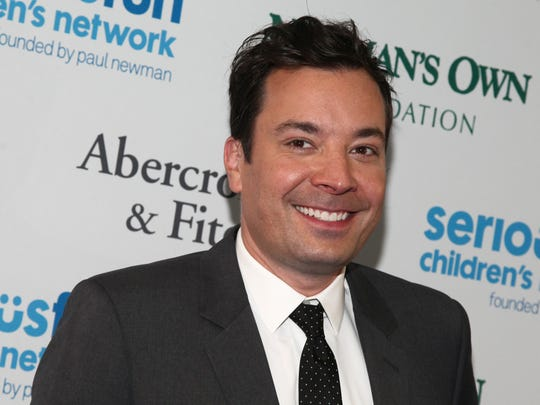 "Jimmy Fallon, host of NBC's ""The Tonight Show."""