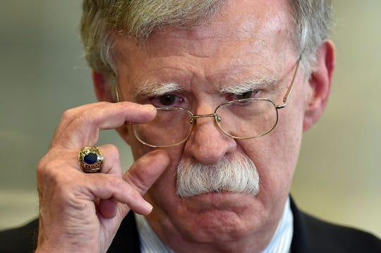 Former US National Security Advisor John Bolton was fired by US President Donald Trump on Sept. 10, 2019. Bolton has had an extensive political career, also serving as the former United States ambassador to the United Nations. Here is his political career in pictures.