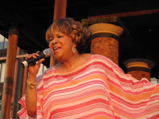 Mavis Staples is a member of both the Rock and Roll and Blues halls of fame.