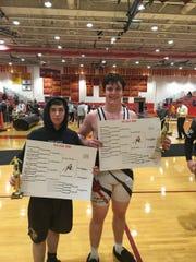 Ridge wrestlers Ryan Duguay and Andrew Taddeo