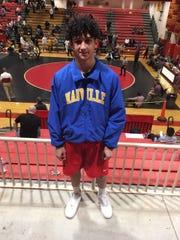 Maville wrestler Shane Lallkissoon