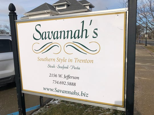 Savannah's restaurant in Trenton MI.