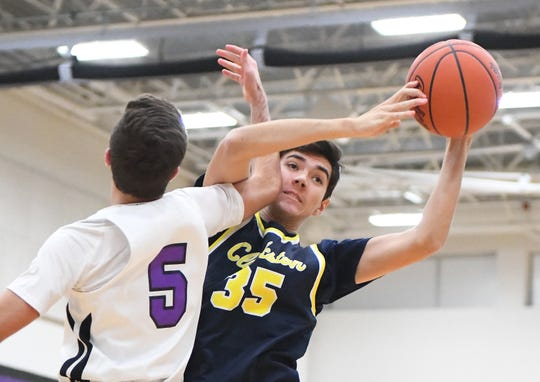 Luke Scherler and Clarkston are ranked No. 4 in the state and No. 2 in the North.
