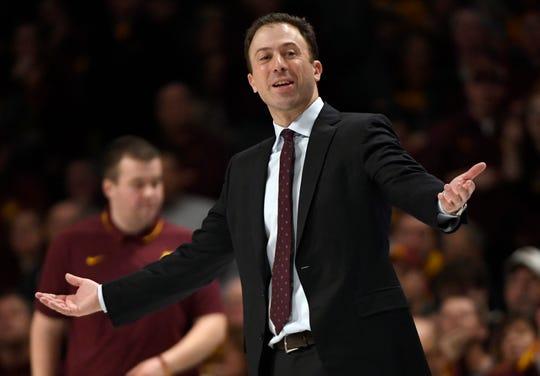 Minnesota coach Richard Pitino