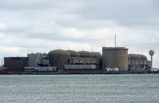 The Pickering Nuclear Generating Station, in Pickering, Ontario is seen Sunday, Jan. 12, 2020.