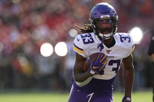 Dalvin Cook was shut down for 18 yards in last Saturday's loss to the San Francisco 49ers.