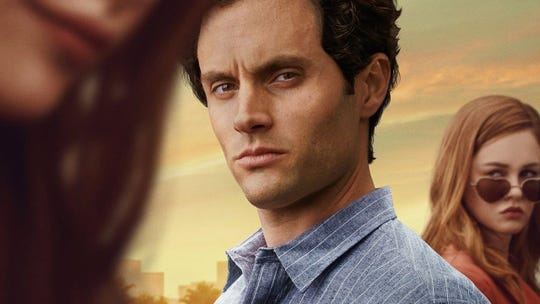 Protagonist Joe Goldberg, played by Penn Badgley, is lauded throughout the show despite his aggressive and deadly actions.