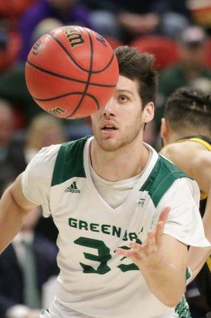 UWGB senior guard Cody Schwartz is averaging 8.7 points and 4.4 rebounds this season.