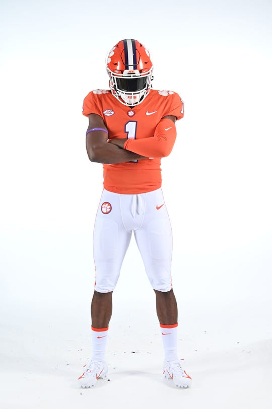 Clemson football uniform usually costs more than $2,000.