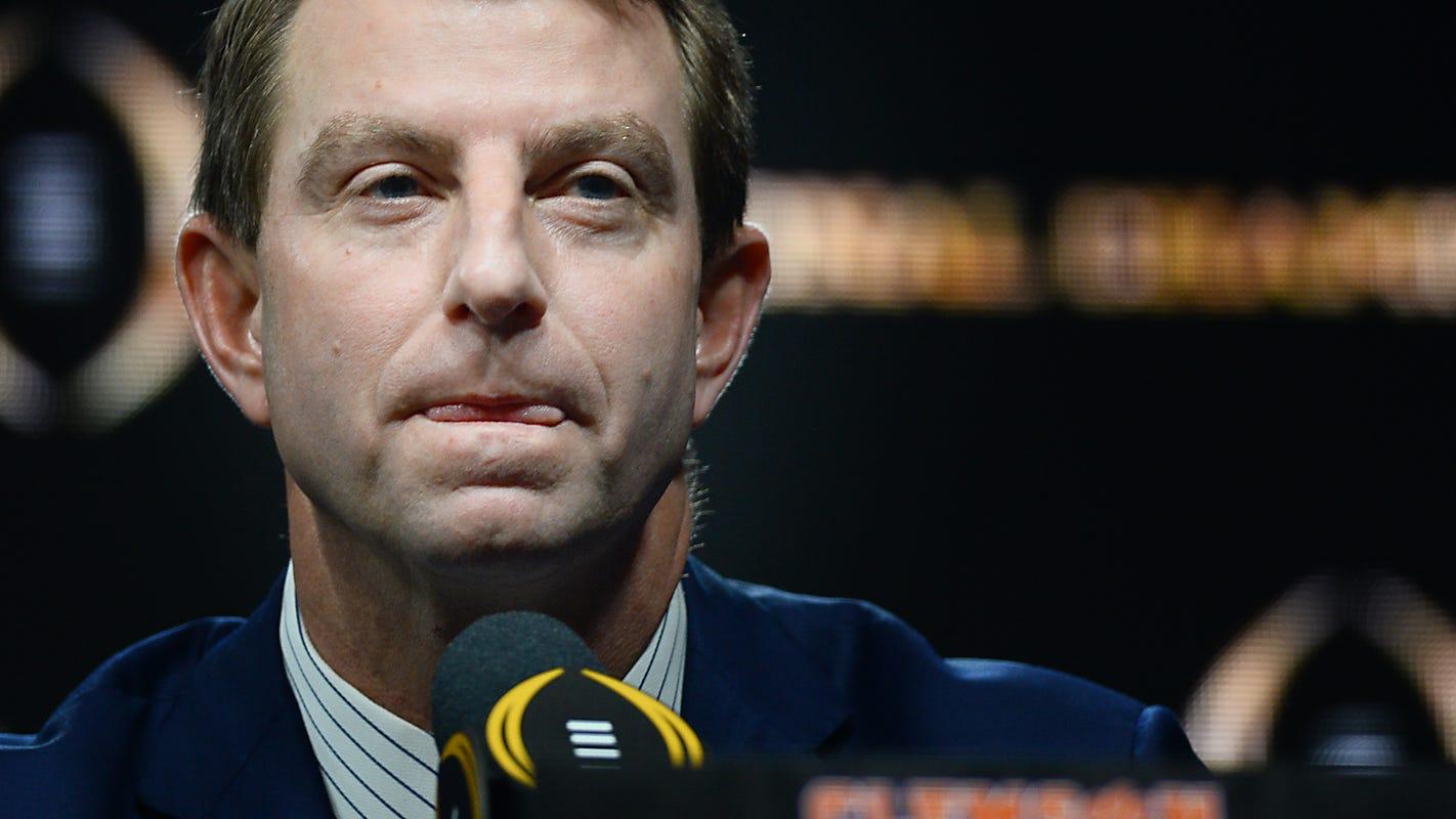 Clemson, Georgia to open 2021 football season in Charlotte, according to report