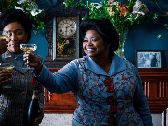 "Octavia Spencer portrays hair care entrepreneur Madam C.J. Walker in upcoming Netflix series ""Self Made."""